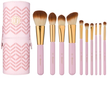 BH Cosmetics Pink Perfection kit de pinceaux