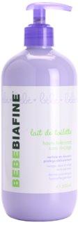 Biafine Bebe reinigende Bodymilch für trockene bis atopische Haut