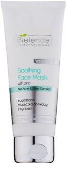Bielenda Professional Anti-Acne & Shine Complex zklidňující maska pro mastnou pleť se sklonem k akné