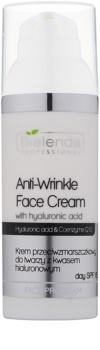Bielenda Professional Hyaluronic Acid & Coenzyme Q10 Anti-Wrinkle Cream SPF15