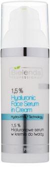 Bielenda Professional Hydra-Hyal Technology Creme-Serum mit Hyaluronsäure