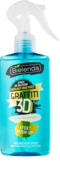 Bielenda Graffiti 3D Effect Push-Up Styling Spray  voor Volume en Glans