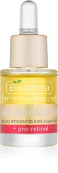 Bielenda Skin Clinic Professional Pro Retinol óleo nutritivo de pele para suavizar contornos do rosto