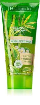 Bielenda Your Care Bamboo & Green Tea wygładzający peeling cukrowy