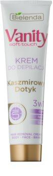 Bielenda Vanity Soft Touch krema za depilaciju za osjetljivu kožu