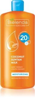 Bielenda Bikini Coconut hydratisierende Sonnenmilch SPF 20