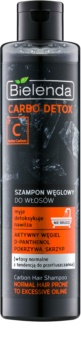 Bielenda Carbo Detox Active Carbon šampon s aktivními složkami uhlí pro normální až mastné vlasy