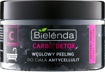 Bielenda Carbo Detox Active Carbon Körper-Peeling mit Aktivkohle