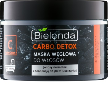 Bielenda Carbo Detox Active Carbon Haarmaske mit Aktivkohle