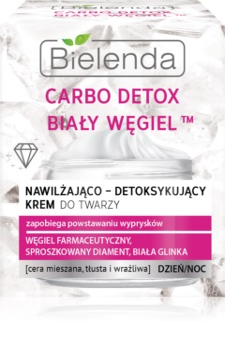 Bielenda Carbo Detox White Carbon Crema hidratanta pentru zi si noapte