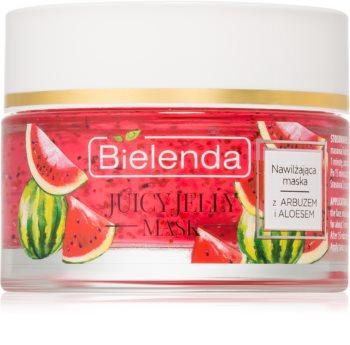 Bielenda Juicy Jelly Melon & Aloe Vera vlažilna maska za suho kožo