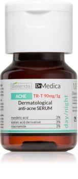 Bielenda Dr Medica Acne serum za obraz za regulacijo prekomernega sebuma in aken
