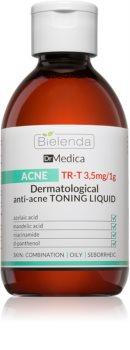 Bielenda Dr Medica Acne čistilni tonik za obraz za mastno k aknam nagnjeno kožo