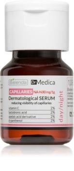 Bielenda Dr Medica Capillaries Hautserum zur Stärkung feiner Äderchen und zur Reduktion von Rötungen
