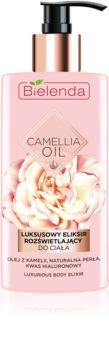 Bielenda Camellia Oil подхранващ хидратиращ лосион за тяло с блясък