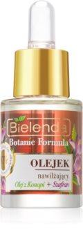 Bielenda Botanic Formula Hemp + Saffron Hautöl mit feuchtigkeitsspendender Wirkung
