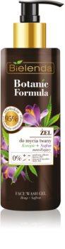 Bielenda Botanic Formula Hemp + Saffron gel za umivanje obraza z vlažilnim učinkom