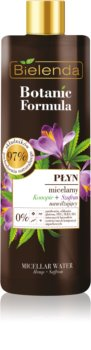 Bielenda Botanic Formula Hemp + Saffron acqua micellare detergente rinfrescante