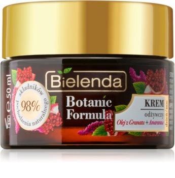 Bielenda Botanic Formula Pomegranate Oil + Amaranth intenzivno hranilna krema