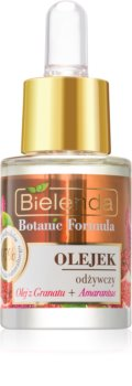 Bielenda Botanic Formula Pomegranate Oil + Amaranth nährendes Öl für die Haut