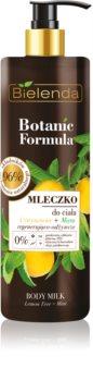 Bielenda Botanic Formula Lemon Tree Extract + Mint подхранващ лосион за тяло