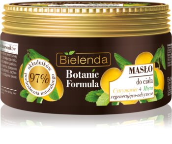 Bielenda Botanic Formula Lemon Tree Extract + Mint nährende Body-Butter