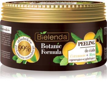 Bielenda Botanic Formula Lemon Tree Extract + Mint Smoothing Body Scrub