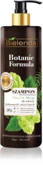 Bielenda Botanic Formula Hops + Horsetail šampon za poškodovane in barvane lase