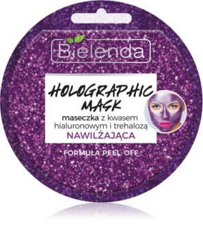 Bielenda Holographic Mask vlažilna maska s hialuronsko kislino