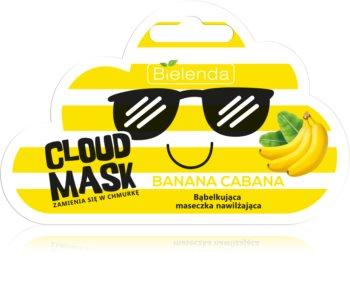 Bielenda Cloud Mask Banana Cabana vlažilna maska za obraz