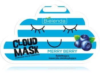Bielenda Cloud Mask Merry Berry razstrupljevalna maska za obraz