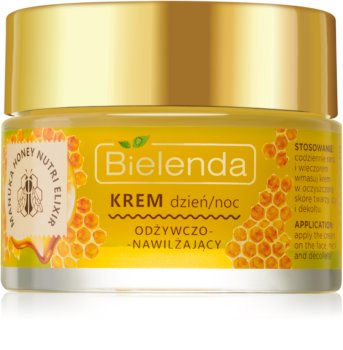 Bielenda Manuka Honey crème nourrissante pour un effet naturel