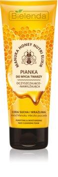 Bielenda Manuka Honey schiuma detergente viso