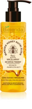 Bielenda Manuka Honey micelarni čistilni gel za pomiritev kože