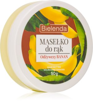 Bielenda Hand Butter Nourishing Banana Butter for Hands