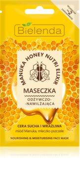 Bielenda Manuka Honey Feuchtigkeitsspendende Maske mit ernährender Wirkung
