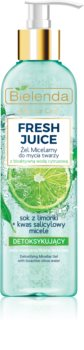 Bielenda Fresh Juice Lime gel micellare detergente