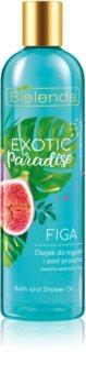 Bielenda Exotic Paradise Fig λάδι για ντους και μπάνιο