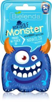 Bielenda Monster masque hydratant en tissu 3D