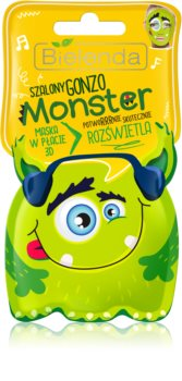 Bielenda Monster sheet maska za blistav ten 3D