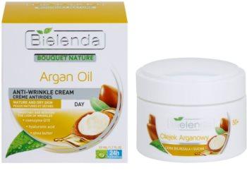 Bielenda Argan Oil crème de jour hydratante pour peaux matures