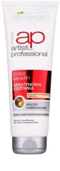 Bielenda Artisti Professional Color Keratin odżywka regenerująca do włosów farbowanych