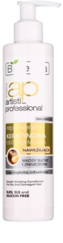 Bielenda Artisti Professional Repair Keratin condicionador hidratante para cabelo seco a danificado
