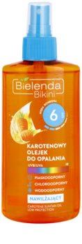 Bielenda Bikini Carotene Moisturising Tanning Oil in Spray SPF 6