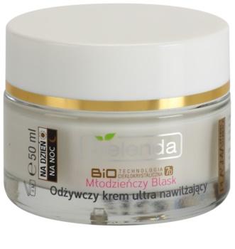 Bielenda BioTech 7D Youthful Glow crema hidratanta si nutritiva pentru piele uscata spre sensibila