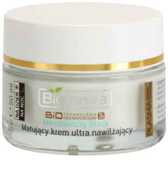 Bielenda BioTech 7D Youthful Glow Mattifying Cream With Moisturizing Effect