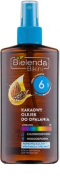 Bielenda Bikini Cocoa olio abbronzante in spray SPF 6