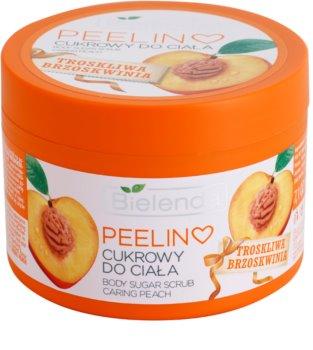 Bielenda Caring Peach Hautpeeling mit Zucker
