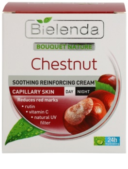 Bielenda Chestnut зміцнюючий крем проти куперозу