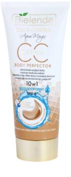 Bielenda Color Control Body Perfector Waterproef CC Body Crème met Zelfbruinende Werking